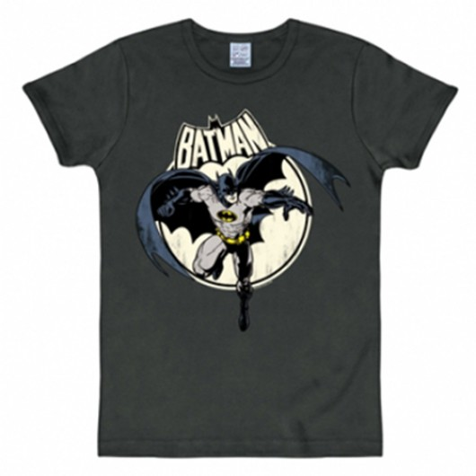 Batman full moon shirt heren slim fit