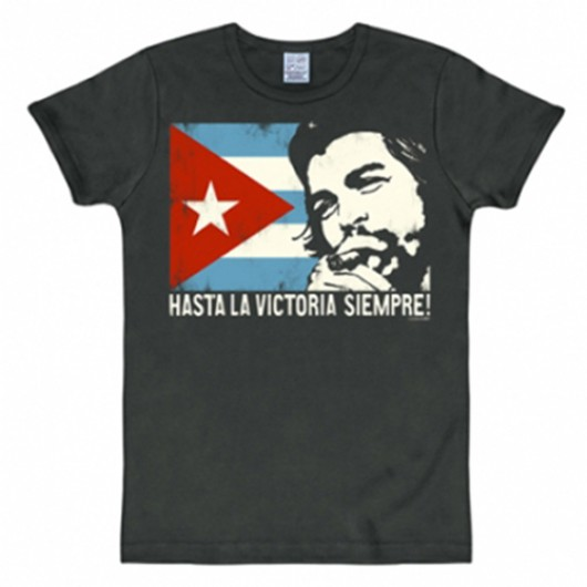 Che Guevara vlag shirt heren slim fit