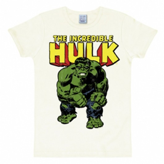 De hulk shirt heren slim fit wit