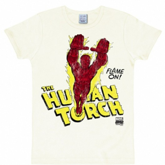 Human Torch shirt heren slim fit