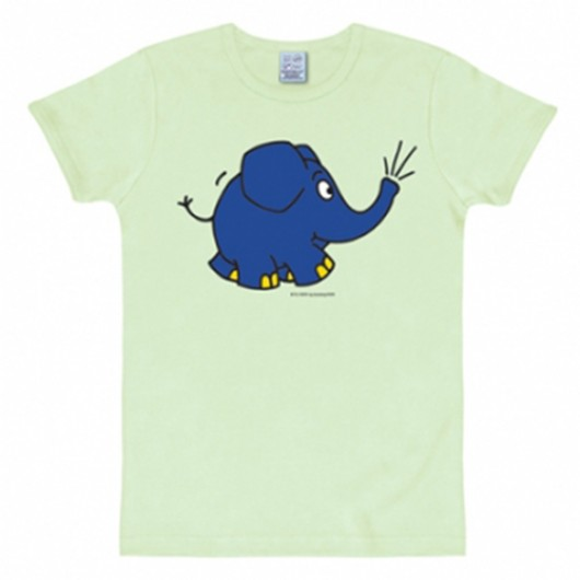Maus elefant shirt heren slim fit