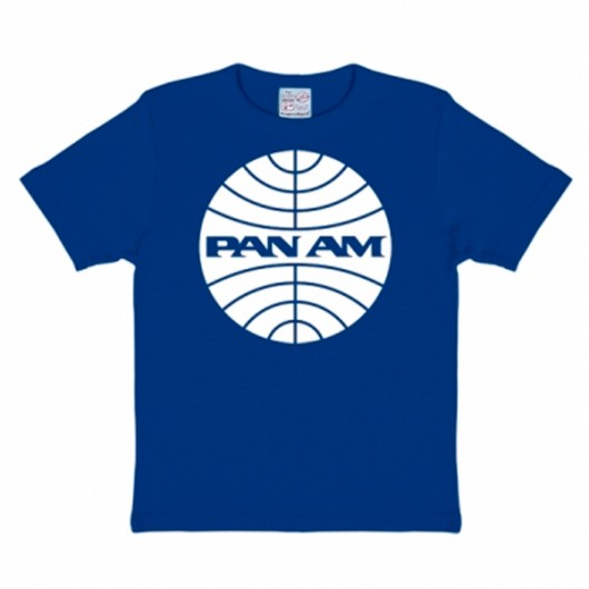 Pan Am Logoshirt kinder t-shirt blauw