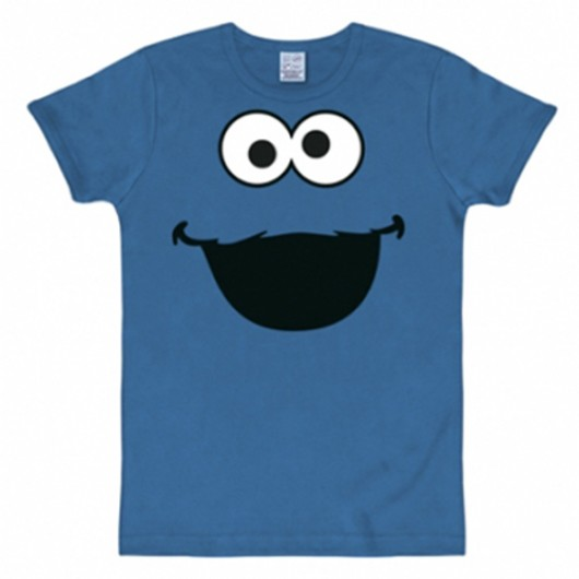 Sesamstraat Koekiemonster shirt heren slim fit
