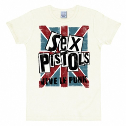 Sex Pistols shirt heren slim fit wit