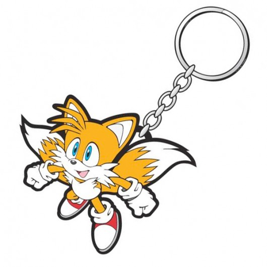 Sonic Tail flying kinder sleutelhanger