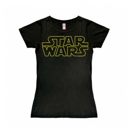 Star Wars logo shirt dames
