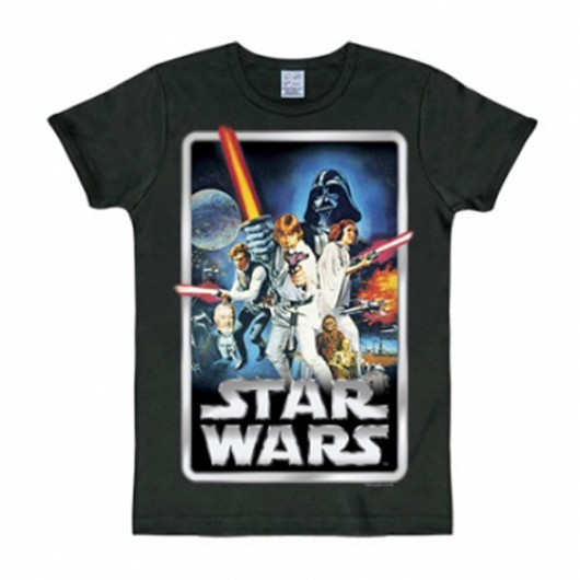 Star Wars poster shirt heren slim fit