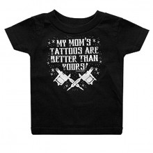 My moms tattoos baby t-shirt