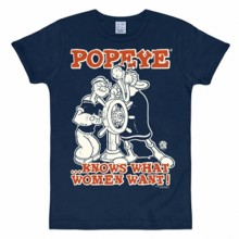 Popeye woman want shirt heren slim fit