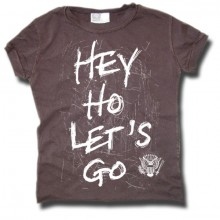 Ramones Hey Ho Let`s Go Amplified baby t-shirt grijs