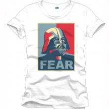 Star Wars fear shirt heren