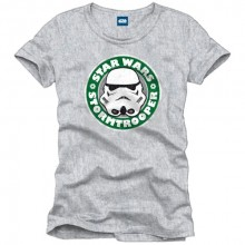 Star Wars Stormtrooper logo shirt heren